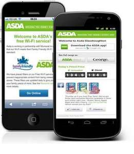 Get free Wi-Fi in all Asda stores!