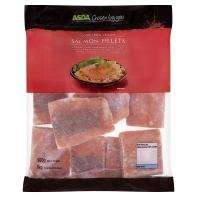 Asda 1kg WILD Salmon Fillets (boneless, skinless, frozen) £7.40 @ Asda