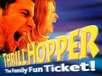 Thrill Hopper Family Ticket (4 days out inc Alton Towers, Drayton Manor, Waterworld and Snowdome activity)