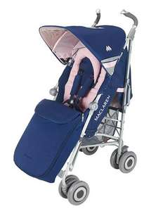 Maclaren XLR in girls navy/pink 199.97 plus £15 off Using offer SAVE15 usaully £300
