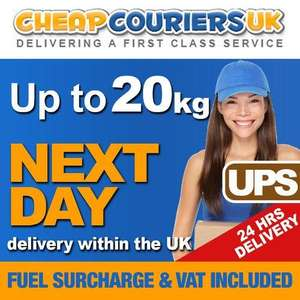 Cheap Next Day Courier Collection / Parcel Delivery £6.75 @ CheapCouriersUK ebay