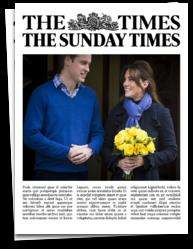 Free Times and Sunday Times for 30 days on IPAD