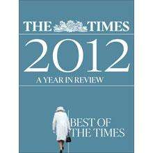 Times+ members can download a free eBook edition of The Times 2012 A Year In Review