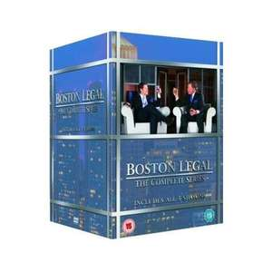 Boston Legal Complete Seasons 1-5 DVD Boxset (27 Discs) £21.09 Delivered @ Play.com