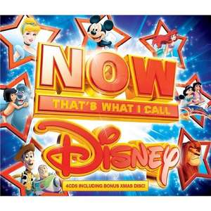 Now That's What I Call Disney 4 CD Set (Bonus Xmas Disc Edition) £4.49 delivered @ Play.com