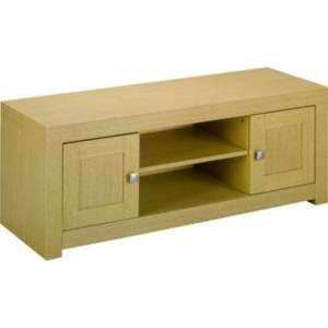 Jamal TV Entertainment Unit - Oak Effect. - Argos - £99.99