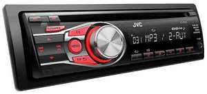 JVC KD-R331 Car Stereo CD Receiver with Dual Aux  - MP3 & Bluetooth Ready £44.99 @ Halfords