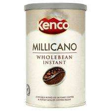 Kenco Wholebean Millicano Tin 100G Half Price at Tesco £1.99 plus £1.50 Quidco Cashback