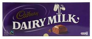 1kg Dairy Milk chocolate bar for £3 at debenhams