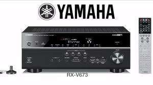 YAMAHA RXV673 - 3D Ready W/ apple airplay Black from Tesco £391.99