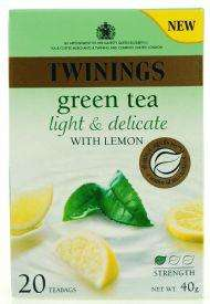 Twinings Light & Delicate Green Tea - 20 pack (Various Flavours) - 39p @ B&M