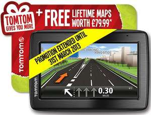 HALFORDS TOMTOM VIA 135 FOR £99.99 +FREE LIFETIME MAPS (OUTSTANDING OFFER)