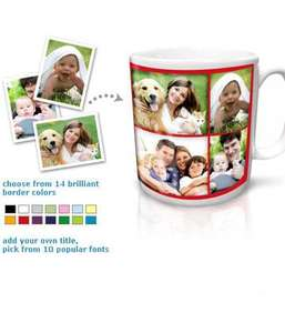 FREE £8 personalised mug (£1.99 P&p) @ Truprint