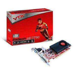VTX3D AMD Radeon HD Low-profile 7750 Graphics Card (1GB, GDDR5, PCI Express 3.0) - turns your HP N40L Proliant Microserver into a decent gaming PC £72.49 @ Amazon