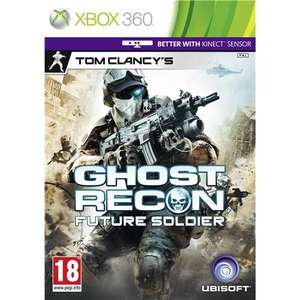 Tom Clancy's Ghost Recon: Future Soldier (Kinect Compatible) Xbox £9.39 @Play