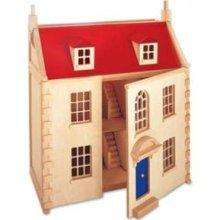 Pintoy wooden Marlborough Dolls house (was £149.99) now £42.20 delivered @ Amazon