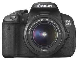Canon EOS 650D Digital SLR Body £396 RRP OVER £600 @ Procamerashop