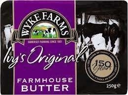 Wyke Farm Butter - 250g only 89p @ Farmfoods