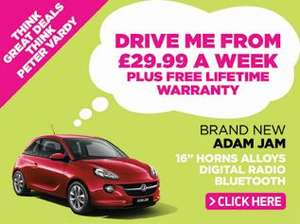 The Vauxhall ADAM for £33.99 per week from Peter Vardys!