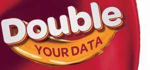 Samba Mobile - Double Data Live until end of Thursday 28th February