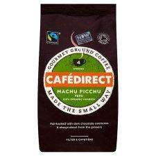 Cafedirect Organic Machu Picchu Coffee 227G £2.50 @ Tesco