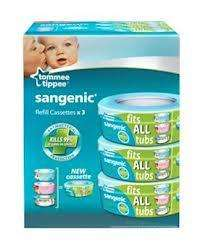 Tommee Tippee Sangenic refill cassettes 3 pack was £13.99, Now £6.99 @ Tesco