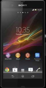 Sony XPERIA Z £26pm on T-Mobile with 500min, Unl Text, Unl Internet + Free handset @ MobilePhones Direct