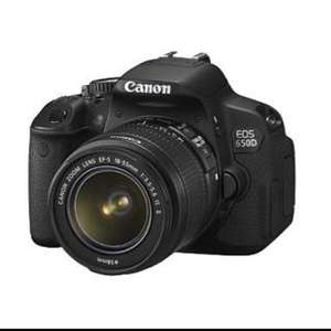 Canon 650D (with lens) £486.18 delivered @ Asda Direct