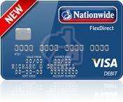 Nationwide flexdirect 5% interest /£2500 balance