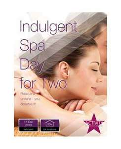 Activity Superstore Indulgent Spa Day Gift, £94 from £199 @ boots.com