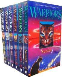 Erin Hunter Warriors The New Prophecy 6 Books £9.99 @ Bangzo Books + £4.99 delivery unless you go over £25