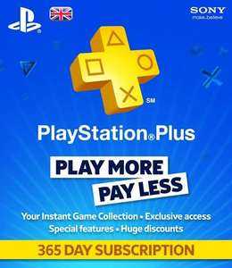 Playstation Plus 365 Day Subscription £24.99 instore @ Bee (Manchester)