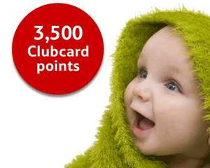 Tesco 3500 Clubcard points for taking out insurance policy via Tesco Bank