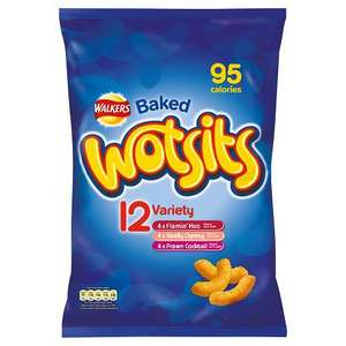 Walkers Wotsits Variety 12 Pack - £1 @ Poundland