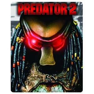 Amazon 11.20 GBP  - Predator 2 - Limited Edition Steelbook (Blu-ray + DVD)