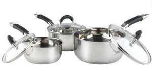 Russell Hobbs 3-piece Stainless Steel Fusion Pan Set for £30.75 including Delivery using coupon @ YourSpares
