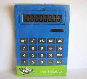 How Cool is This - Giant Calculator £2.50 Was £10.00 In-store Tesco Liverpool One