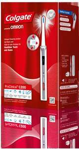 Colgate Pro Clinical Electric Toothbrushes (C200, C600, A1500) all HALF PRICE at Boots.com & Tesco; cheapest £32.49