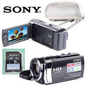 Sony HDR-CX190 Full HD Camcorder With 25x Optical Zoom, highly rated - £119.99 @ eBay ocean_treetrading is a bargain