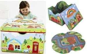 Happyland  Storage Box and Play mat delivered to store for £8.80 @ Mothercare
