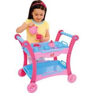 Chad Valley Pink Toy Tea Trolley was £19.99 now £7.99 @ Argos + reserve & collect