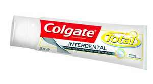 Free sample of Colgate Total Interdental toothpaste
