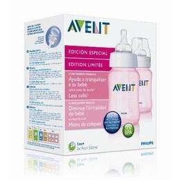 Philips Avent ltd edition pink 9oz bottles twin pack - Sainsburys instore £2.75