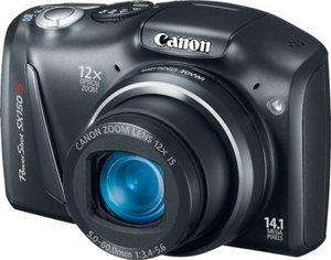 Canon PowerShot SX150 IS 14.1 MP Camera, Black (Refurbished) £52.94 @canon ebay outlet