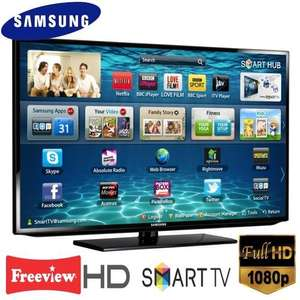 "Samsung UE40EH5300K 40"" Smart TV with Full HD 1080P Integrated Freeview HD (Refurb) £358.99 @ Tesco Outlet ebay"