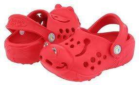 Polliwalks kids clogs instore at Sports Direct stores for £2.99