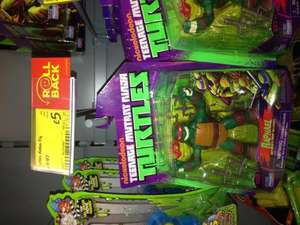 TMNT Teenage Mutant Ninja Turtles figures £5.00 in store at Asda