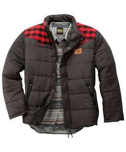 The Lumber Puffa jacket - £18.95 delivered @ Joe Browns