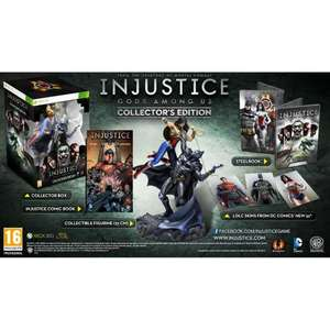 Pre-order Injustice: Gods Among Us: Collector's Edition - PS3 £67, xbox 360 £68.09 @ Amazon