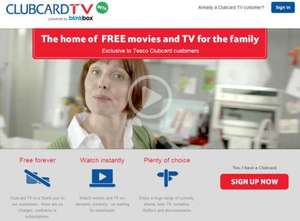Free TV & Movies for Clubcard holders & blinkbox users @ ClubcardTV